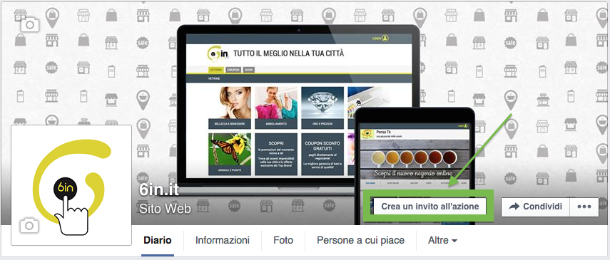 Creare call to action su facebook