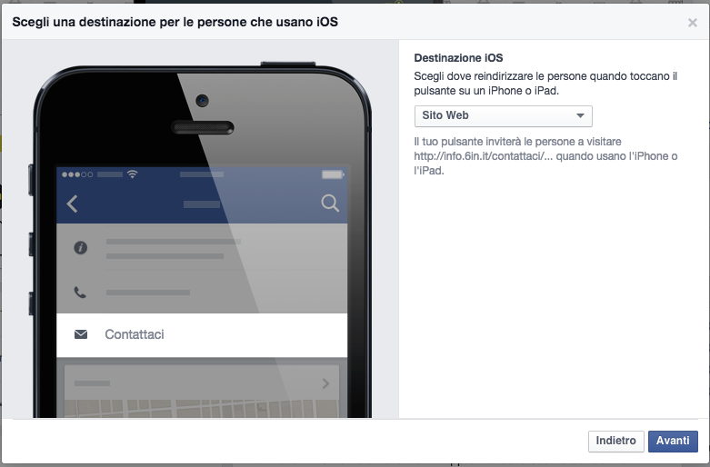 creare call to action per facebook